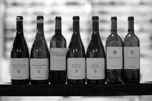 7 vini in degustazione